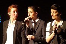 «Garçons!» : Zaza Fournier, Chloé Lacan et Cléa Vincent font traverser le temps et le genre à la chanson au Café de la Danse