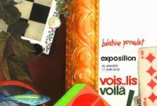 Vois… lis… voilà… Béatrice Poncelet en scène au musée de l'illustration jeunesse de Moulins !