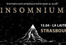 [Live report] Insomnium à la Laiterie