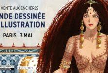 La 6EME vente aux enchères « Bande Dessinée et Illustration » le 3 mai chez Christie's