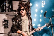 Lenny Kravitz célèbre l'amour à l'AccorHotels Arena