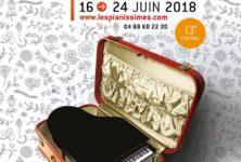 Le 13e Festival Pianissimes: Jeunes talents et récital de Jean-Marc Luisada