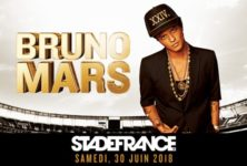Bruno Mars rend fou le stade de France