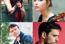 Concert Brahms au Festival européen Jeunes Talents