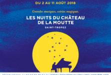 Gagnez 2×2 places pour le Festival les nuits du Château de la Moutte à St Tropez