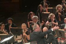 Maison de la Radio: Brahms, Lalo et Saint-Saëns,  par l'Orchestre National de France dirigé par Emmanuel Krivine et Bertrand Chamayou