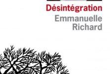 «Désintégration» d'Emmanuelle Richard : la haine au cœur du récit