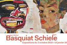 Schiele et Basquiat : deux expositions séparées sur deux génies morts à 28 ans à la Fondation Louis Vuitton