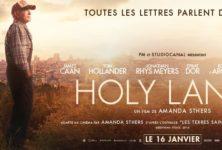 Gagnez 5×2placespour le film Holy Lands accompagnées du livre