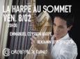 Gagnez 5×2 places pour le concert La Harpe au Sommet d'EMMANUEL CEYSSON à Cannes