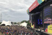 Temps de chien et musique de fête pour la clôture du 44e Festival Paléo