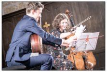 Premier concert en duo Anatasia Kobekina et Thibaut Garcia au Festival de la Vézère