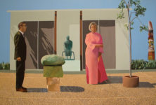 David Hockney Moves To France