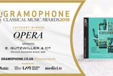 «La Reine de Chypre» récompensée par Gramophone Classical Music Awards 2019