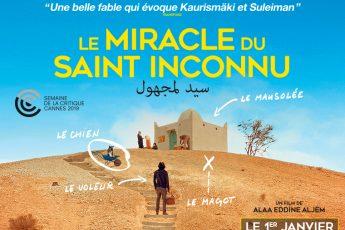 Gagnez 5×2 places pour l'avant-première du film 'LE MIRACLE DU SAINT INCONNU' demain à l'Institut de Monde Arabe !