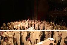 Le jour où les Bouffes Nord ont préféré une messe de Kanye West à une pièce de Phia Menard