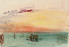 Lumière sur les aquarelles de Turner