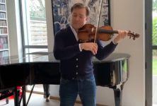 Musique classique : ces musiciens qui se filment dans leur confinement