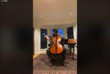 Ces musiciens qui se filment dans leur confinement (17)