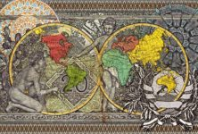 (Bruxelles ) « Mappa mundi » : cartographies contemporaines à la Fondation Boghossian