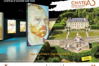 Jeu-concours : 5×2 places à gagner pour le parcours culturel « Vision Impressionniste » au Château d'Auvers