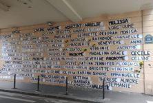 Un mémorial en hommage aux victimes du patriarcat