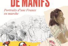 «Carnets de manifs» : des croquis pour se replonger dans les dernières manifestations