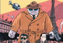 Le Ministère Secret :un thriller loufoque au parfum de vieux comics signé Mathieu Sapin et Joann Sfar !