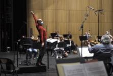 Hervé Niquet mène avec entrain l'enregistrement de Phryné à Rouen