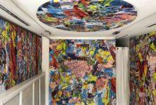 Exposition «Retour aux bacchanales» de Thierry Pertuisot à la galerie Victor Sfez, Paris