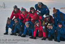 «Une nuit en Antarctique» de Flo Lemonnier : retour vers la lumière