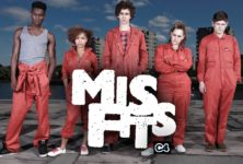 Misfits, la série qui fait sensation en Angleterre…