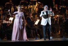Plácido Domingo et Maria José Siri, un beau récital sous le ciel étoilé de Vérone.
