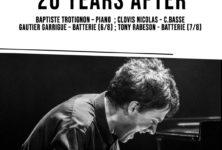 Baptiste Trotignon Trio enflamme le Sunside !