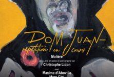 Maxime d'Aboville en beau parleur dans le Dom Juan de Molière