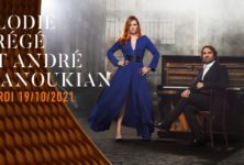 Elodie Frégé et André Manoukian, à la Seine Musicale