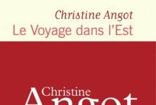 Le prix Médicis remis à Christine Angot pour Le Voyage dans l'Est