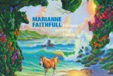 Marianne Faithfull, nouvel album Horses and High Heels, Signature à la FNAC Montparnasse et deux concerts au Châtelet