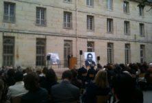 Hommage à Jorge Semprun au lycée Henri IV (11/06/2011)